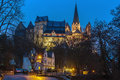 Limburg Cathedral And Castle, Germany Stock Photography - 69759182