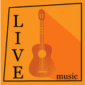Live Music Vector Poster Template. Stock Images - 69766204