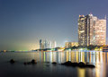 Pattaya City In Sunset Time Stock Photography - 69819682