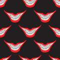 Evil Clown Or Card Joker Smile Seamless Pattern Royalty Free Stock Photography - 69827027