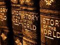 Old Books On The History Of The World Royalty Free Stock Photos - 69839818