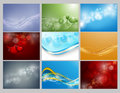 Vector Backgrounds Set Stock Image - 69871351