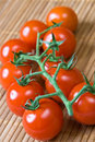 Tomatoes On The Vine Royalty Free Stock Images - 6990699
