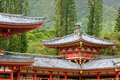 Byodo In Temple Corner Royalty Free Stock Images - 6991729