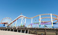Santa Monica Pier Rides And Attractions Stock Image - 69918941
