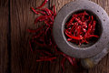 Red Dried Chili Stock Image - 69924171