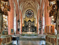 Chancel And Altar Of Storkyrkan (The Great Church) In Stockholm, Sweden Stock Photo - 69986880