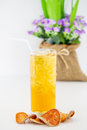 Iced Bael Juice Royalty Free Stock Photography - 70007557
