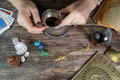 Witch - Fortune Teller Stock Photography - 70012962