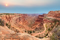 Shafer Trail Road Royalty Free Stock Photos - 70024218