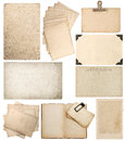 Set Of Old Paper Sheets FL. Vintage Photo Book Pages Royalty Free Stock Image - 70028716