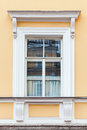 Classical Architecture Details, Yellow Wall And Window Royalty Free Stock Images - 70060799