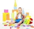 Baby Educational Toys, Kid Play ABC Letters For Children Royalty Free Stock Images - 70065369