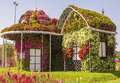 Amazing Colorful House Of Flowers In The Miracle Garden Stock Images - 70069384