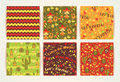 Set Of Vector Seamless Patterns With Traditional Mexican Symbols Stock Photos - 70076713