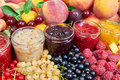 Mix Of Jams And Fruits Royalty Free Stock Photos - 70101328