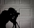 Photographer S Shadow Or Silhouette Stock Photography - 70108382