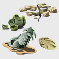 Remains Of Animal And Prehistory Elements Stock Photo - 70118580