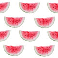 Watercolor Seamless Pattern Of Watermelon Slices. Royalty Free Stock Images - 70182449