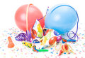 Party Hats And Balloons Royalty Free Stock Photo - 7022365