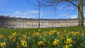 Royal Crescent At Spring Royalty Free Stock Images - 70202069