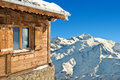 Winter Chalet In French Alps Royalty Free Stock Photo - 70207955