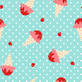 Ice Cream Pattern Stock Photo - 70236820