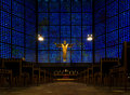 Stained Glass Church Royalty Free Stock Image - 70269896