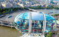 Nice Aerial  London Cityscape  With Charing Cross Station Stock Photography - 70270062