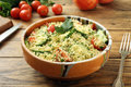 Cous Cous Vegetarian Salad Royalty Free Stock Photo - 70319055