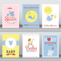 Baby Shower Invitation Card. Vector Stock Photography - 70327052