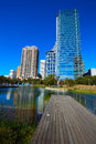 Houston Discovery Green Park In Downtown Stock Images - 70330014