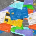 Credit Card Seamless Background Royalty Free Stock Photos - 70331578