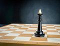 King On The Chess Board Royalty Free Stock Photography - 70349677