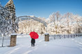 Snowy Winter Scene Royalty Free Stock Images - 70391869