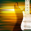 Abstract Grunge Background With Electric Guitar Royalty Free Stock Images - 70396609