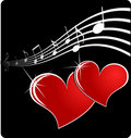 Music Heart Royalty Free Stock Photography - 7042677