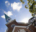 Steeple And Clouds Royalty Free Stock Photos - 7046718