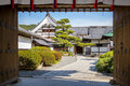 The Shikidai Genkan Entrance To Daikaku-ji Royalty Free Stock Photo - 70418275