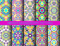Kaleidoscopic Patterns Collection Royalty Free Stock Photography - 70439227