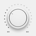 White Technology Music Button Royalty Free Stock Photography - 70460697