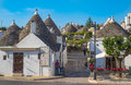 ALBEROBELLO, ITALY - June, 13, 2015: Traditional Trulli Houses Stock Images - 70486404