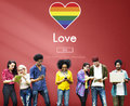 Gay LGBT Equal Rights Homosexuality Concept Royalty Free Stock Image - 70487376