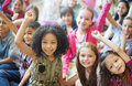 School Children Cheerful Variation Concept Royalty Free Stock Image - 70488946