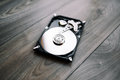 Disassembled Hard Drive From The Computer (hdd) With Mirror Effects. Part Of Computer (pc, Laptop) Stock Images - 70499774