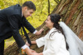 Just Married Couple Stock Photos - 7052623