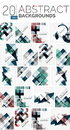 Collection Of Abstract Backgrounds Stock Images - 70500334