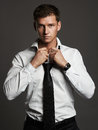 Young Man In Tie.Handsome Man Royalty Free Stock Photos - 70504638