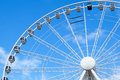 Big Ferris Wheel With Blue Sky Stock Photography - 70505482