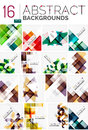 Collection Of Abstract Backgrounds Stock Photos - 70564573